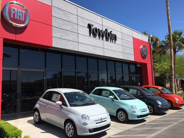 COURTESY Test-drive a 2016 Fiat and check out all of the new available colors at Towbin FIAT/Alfa Romeo, open from 8 a.m. to 9.m. Monday through Saturday at 2550 S. Jones Blvd.