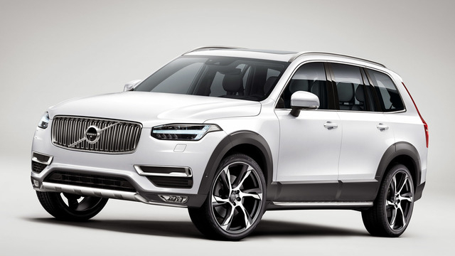 COURTESY The new Volvo XC90 is roughly 250 pounds lighter than the outgoing wagon, despite being about the same size.