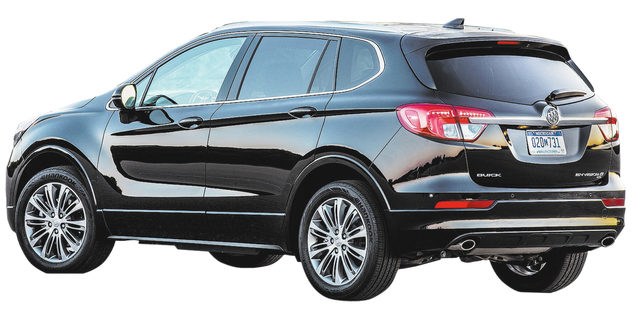 Midsize and midpriced, Buick Envision certainly not middle of the road