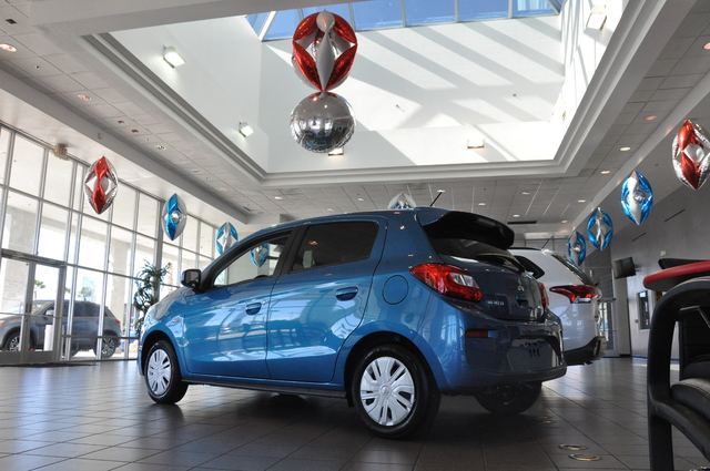 Las Vegas Mitsubishi, 7100 W. Sahara Ave., is the city's only dealership that focuses on the Tokyo-based carmaker. Photo by Buford Davis / Las Vegas Review Journal