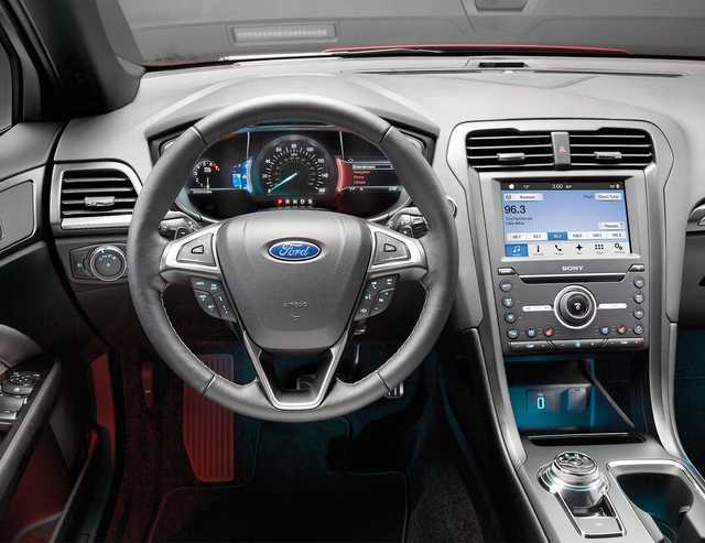 Courtesy Ford The 2017 Fusion Switches To A Dial Selector Change Gears Of