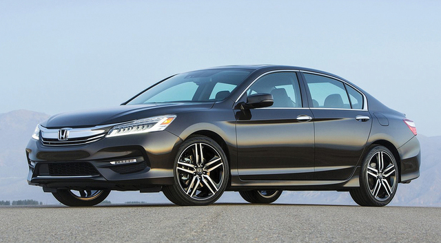 COURTESY HONDA  The next Honda Accord will apparently be more exciting to look at than the current model, pictured.