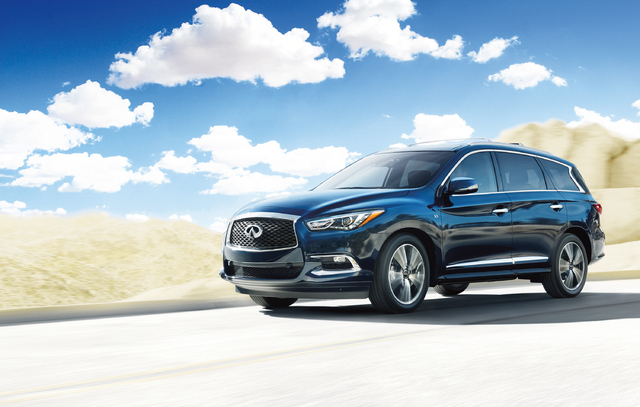 COURTESY Park Place Infiniti, 5555 W. Sahara Ave., highlights the 2017 Infiniti QX60, featuring a new V-6 engine with direct injection and award-winning safety features.