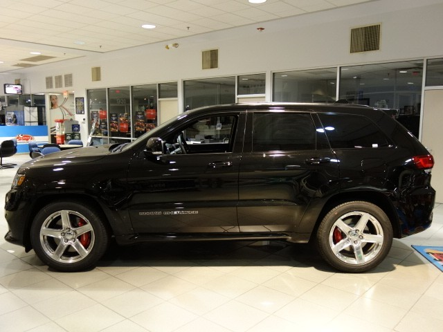 COURTESY The latest Jeep Grand Cherokee SRT is at Chapman Chrysler Jeep in the Valley Automall.