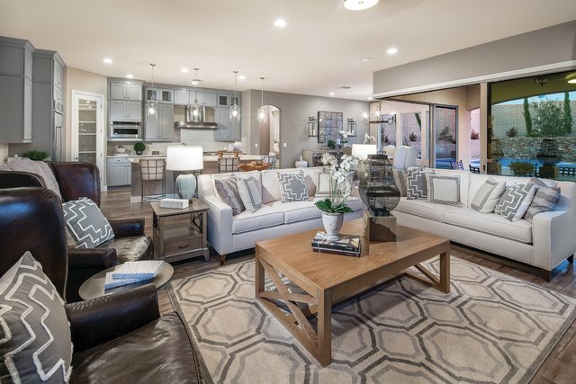 ADVERTISING FEATURE Pulte Homes' neighborhood, The Cove, in Southern Highlands Parkway offers a variety of floor plans.