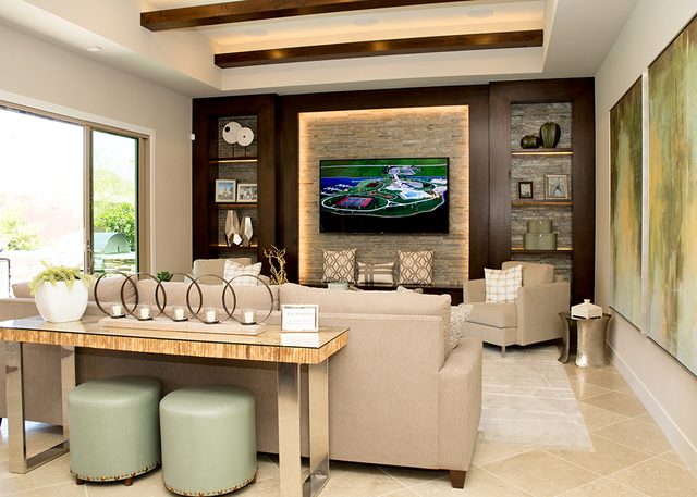 A living room. (TONYA HARVEY/RJRealEstate.Vegas)