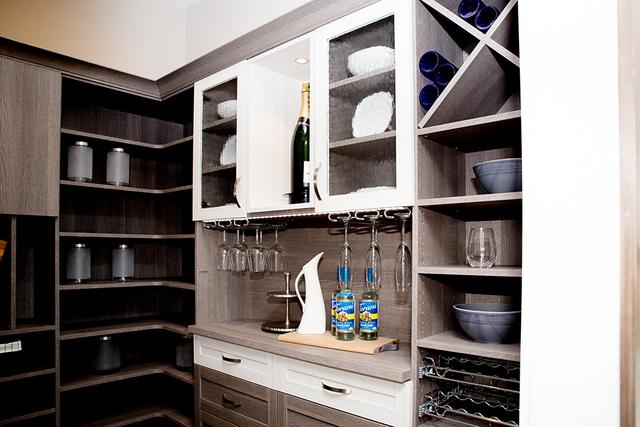 A pantry. (TONYA HARVEY/RJRealEstate.Vegas)