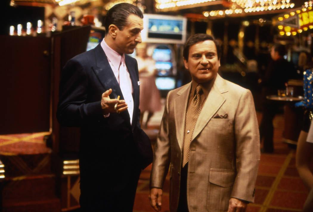 """Actors Robert De Niro, left, and Joe Pesci appear in the 1995 movie """"Casino."""" (Universal Pictures)"""