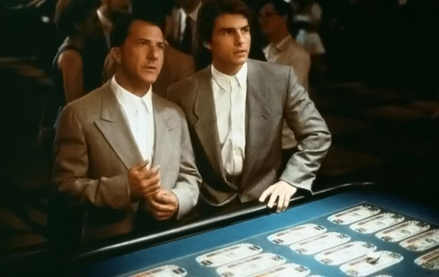 """Rain Man"" is the story of a selfish yuppie left a pittance by his father and the autistic brother he never knew about who inherited everything. (United Artists)"