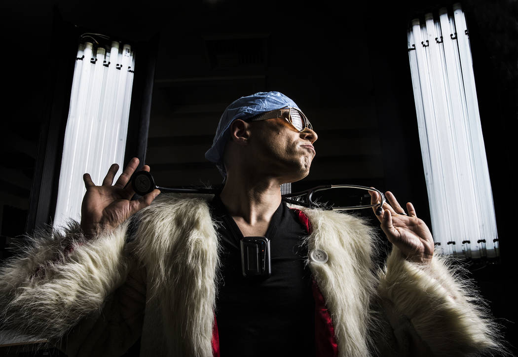 """Dr. Zubin Damania, AKA """"ZDoggMD,"""" is a Stanford-trained internist whose parody videos get millions of views from doctors, nurses  and medical personnel. Photo taken on Sunday, March 19, 2017, at D ..."""