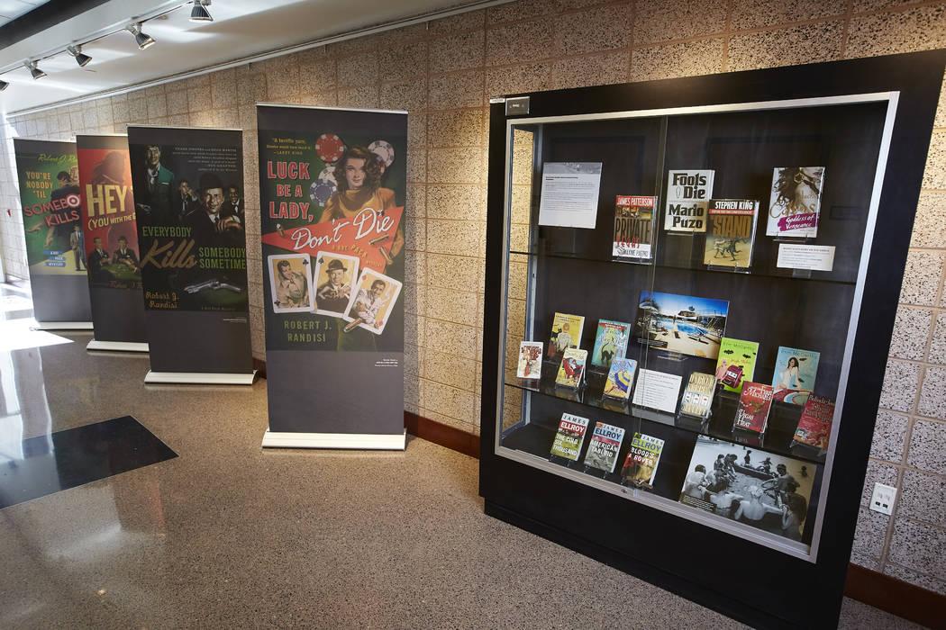Las Vegas in Fiction Exhibit Josh Hawkins UNLV Photo Services