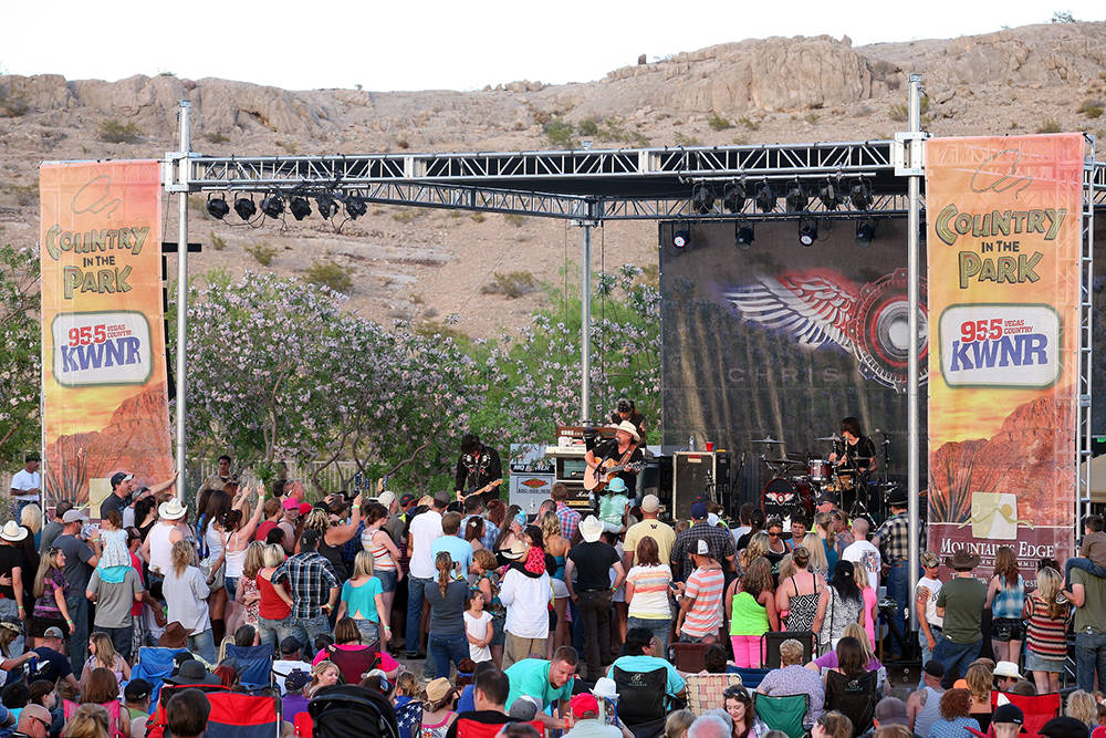 The free Country in the Park at Mountain's Edge is May 13 and features Granger Smith with special guest Ryan Follese and Elvis Monroe.
