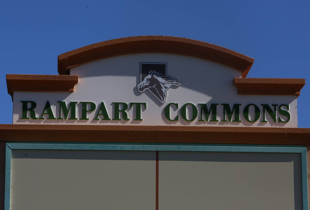 Rampart Commons at 1051 S. Rampart Blvd., on Monday, May 1, 2017, in Las Vegas. Bizuayehu Tesfaye Las Vegas-Review Journal @bizutesfaye