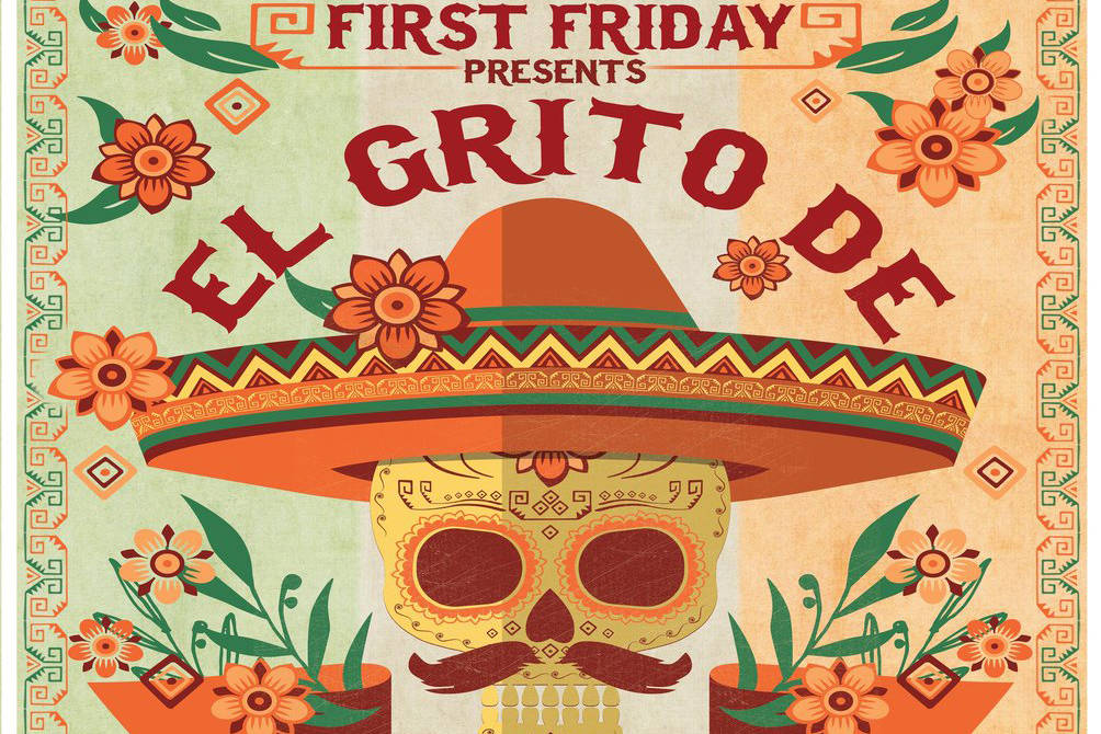 """May's First Friday theme is """"El Grito de Delores."""" Twitter"""