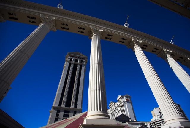 Caesars Palace, 3570 Las Vegas Boulevard South, is seen Wednesday, Jan. 14, 2015. Las Vegas Review-Journal file photo