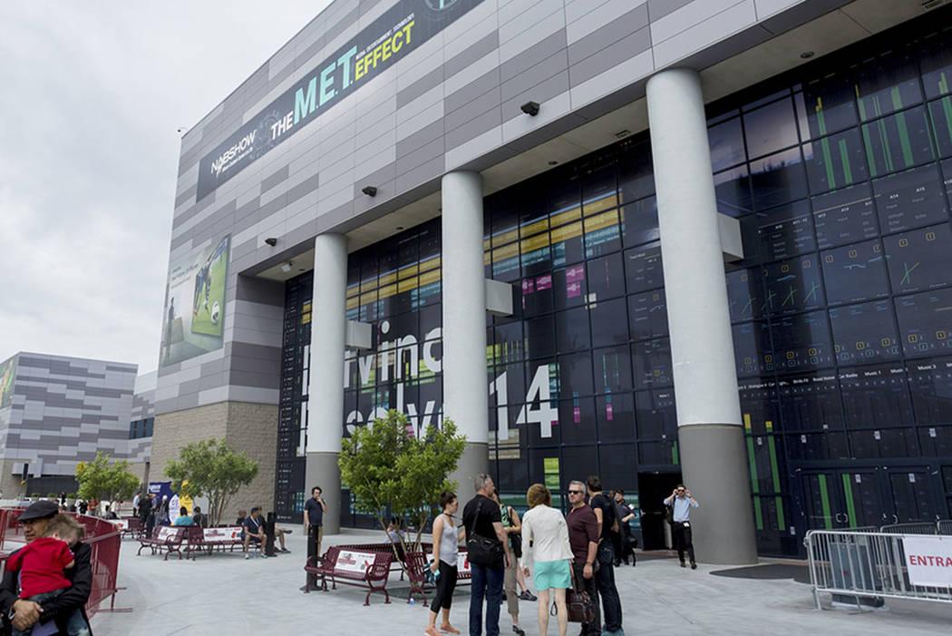 The Las Vegas Convention Center (Elizabeth Brumley/Las Vegas Review-Journal)