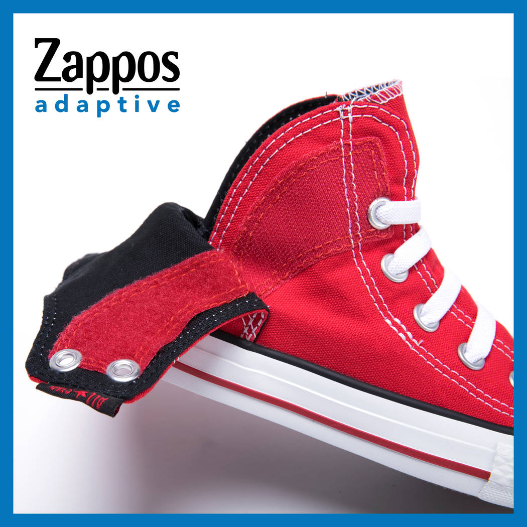 These children's Converse shoes ($40) are orthotic friendly and can be pulled on and off without tying laces. (Zappos)