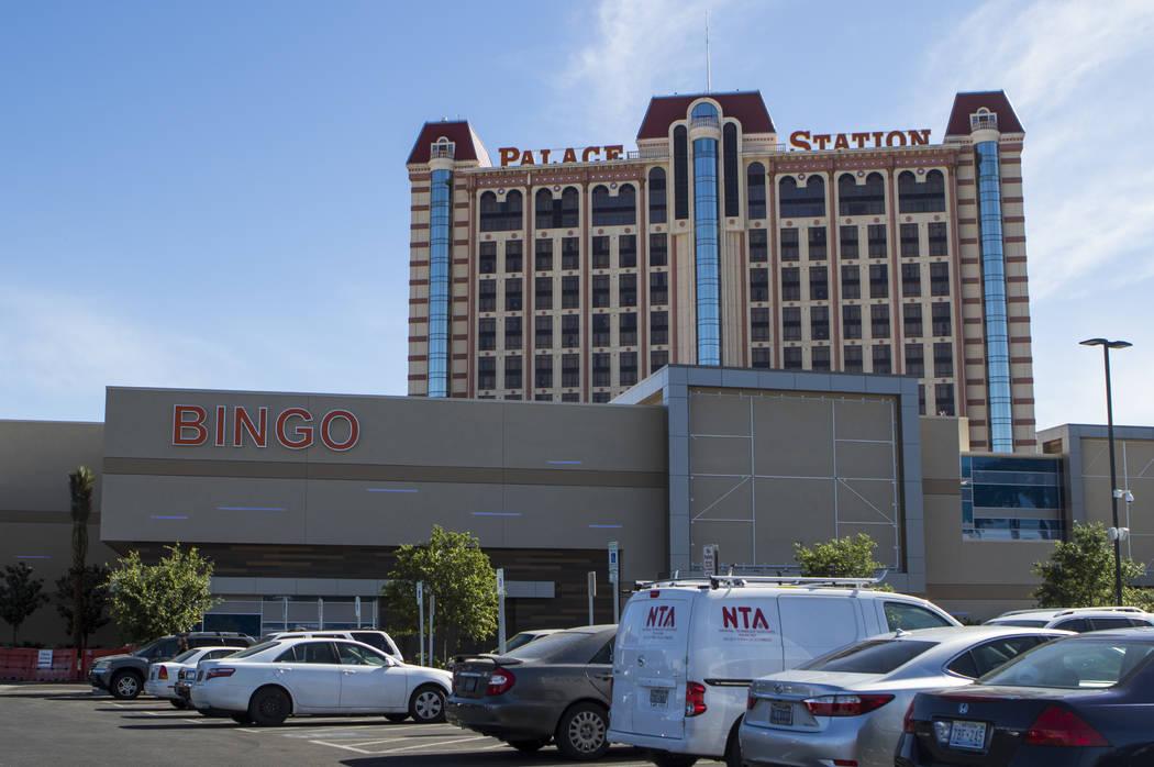 The exterior of Palace Station hotel-casino in Las Vegas on Tuesday, April 25, 2017. Miranda Alam Las Vegas Review-Journal @miranda_alam