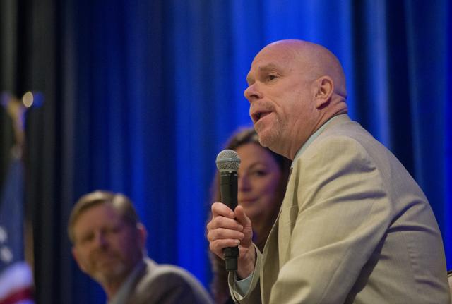 Chief Economist at the Nevada Department of Employment, Training, and Rehabilitation Bill Anderson on Thursday, June 16, 2016. Daniel Clark/Las Vegas Review-Journal Follow @DanJClarkPhoto