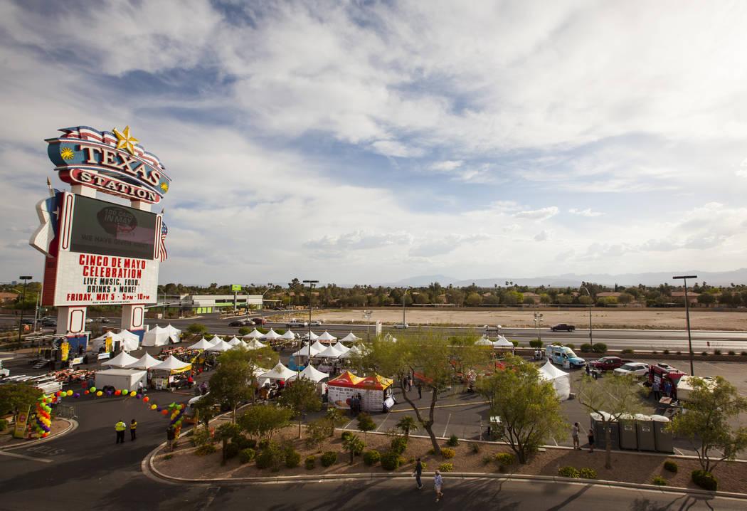 The El Tiempo block party at Texas Station hotel-casino in North Las Vegas on Friday, May 5, 2017. Miranda Alam Las Vegas Review-Journal @miranda_alam