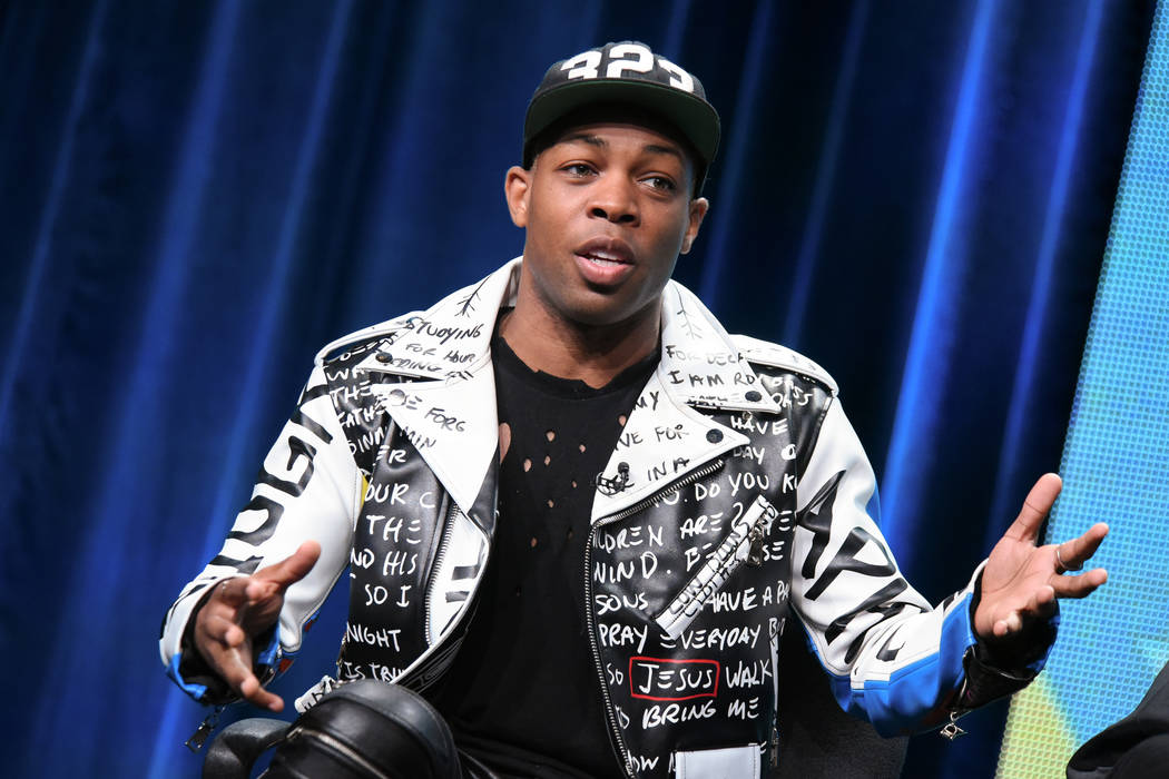 """Todrick Hall speaks onstage during the """"Todrick"""" panel at the Viacom Networks 2015 Summer TCA Tour held at the Beverly Hilton Hotel on Wednesday, July 29, 2015, in Beverly Hills, ..."""