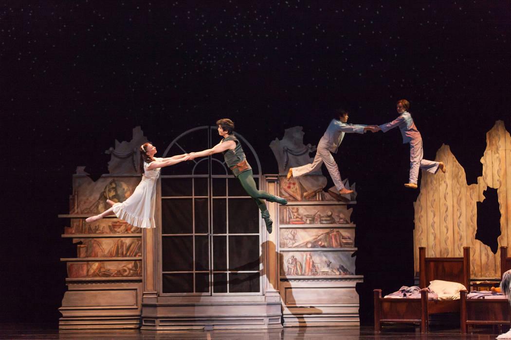 """""""Peter Pan"""" (Rejean Brandt Photography/Nevada Ballet Theatre)"""