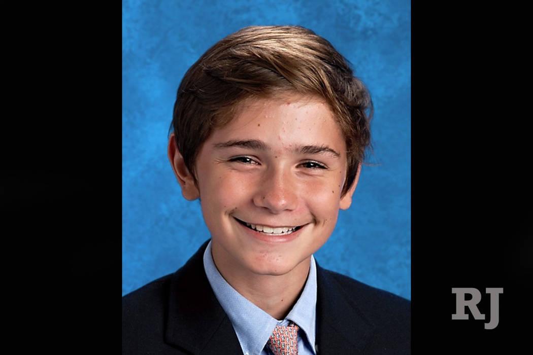 Jackson Standefer, 14 (McCallie School, Chattanooga via AP)