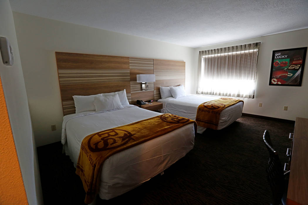 A bedroom at Rising Star Sports Ranch in Mesquite, Nev., Friday, May 5, 2017. Chitose Suzuki Las Vegas Review-Journal @chitosephoto