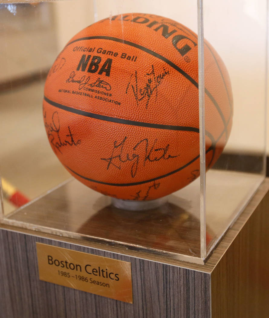 A basketball display at Rising Star Sports Ranch in Mesquite, Nev., Friday, May 5, 2017. Chitose Suzuki Las Vegas Review-Journal @chitosephoto