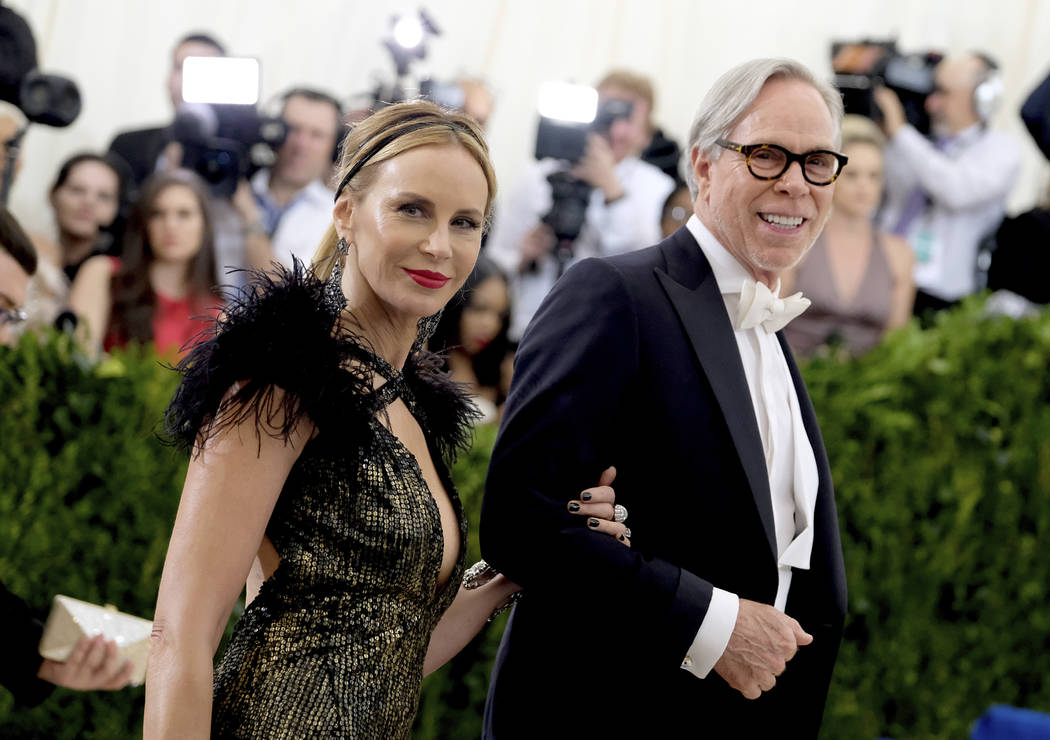 Dee Ocleppo, left, and Tommy Hilfiger attend The Metropolitan Museum of Art's Costume Institute benefit gala celebrating the opening of the Rei Kawakubo/Comme des Garçons: Art of the In-Between e ...