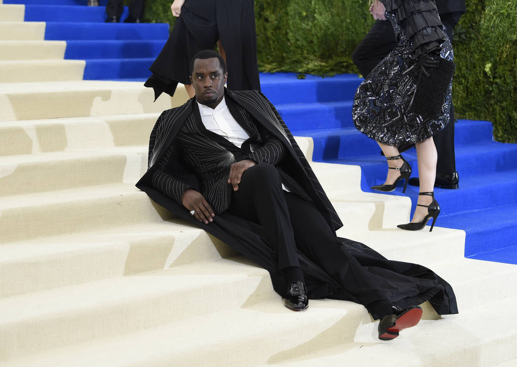 Sean Combs attends The Metropolitan Museum of Art's Costume Institute benefit gala celebrating the opening of the Rei Kawakubo/Comme des Garçons: Art of the In-Between exhibition on Monday, May 1 ...
