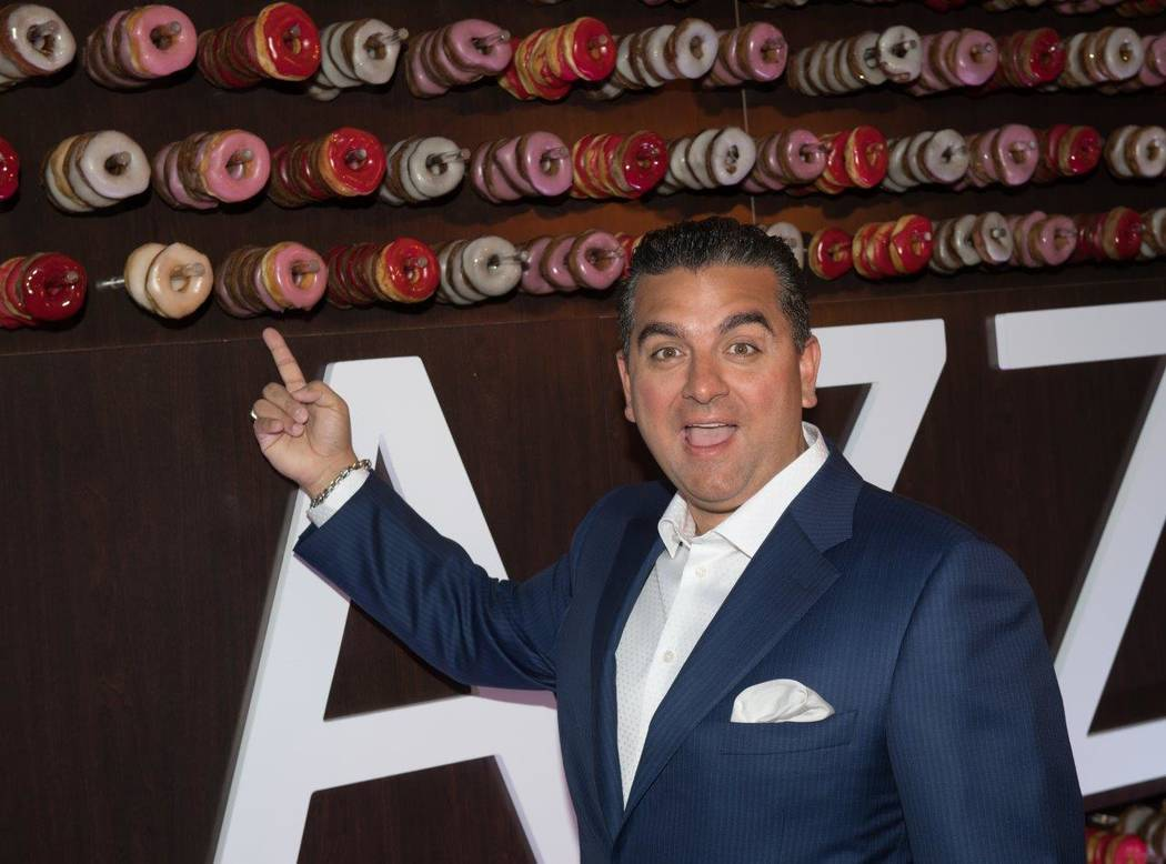 """Sweet Escape: An Evening of Buddy, Beignets, Bonbons & Booze"" hosted by Buddy Valastro at The Aquatic Club at The Palazzo for Vegas Uncork'd on Saturday, April 29, 2017, in Las Vegas. (To ..."