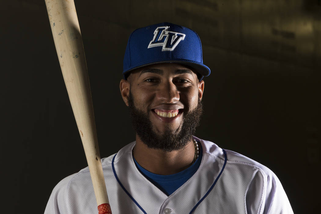 Las Vegas 51s Amed Rosario made up for a ninth-inning error by driving in the game-winning run in the 11 inning.  Erik Verduzco/Las Vegas Review-Journal Follow @Erik_Verduzco