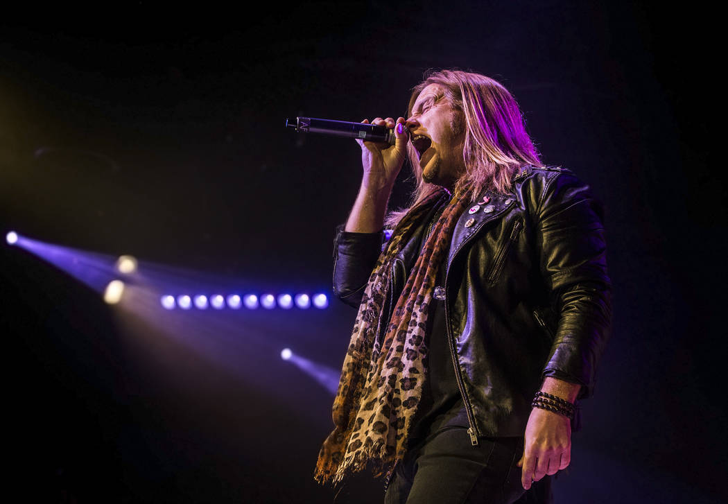 'Raiding the Rock Vault' classic rock revue on Monday, May 1, 2017, at the Hard Rock hotel-casino, in Las Vegas. Benjamin Hager Las Vegas Review-Journal @benjaminhphoto