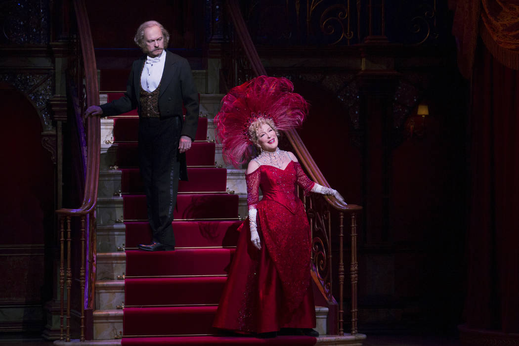 "David Hyde Pierce and Bette Midler perform in ""Hello, Dolly!"" in New York. The musical received 10 Tony nominations on Tuesday, May 2, 2017, including best actress for Midler. Julieta Cervantes/O& ..."