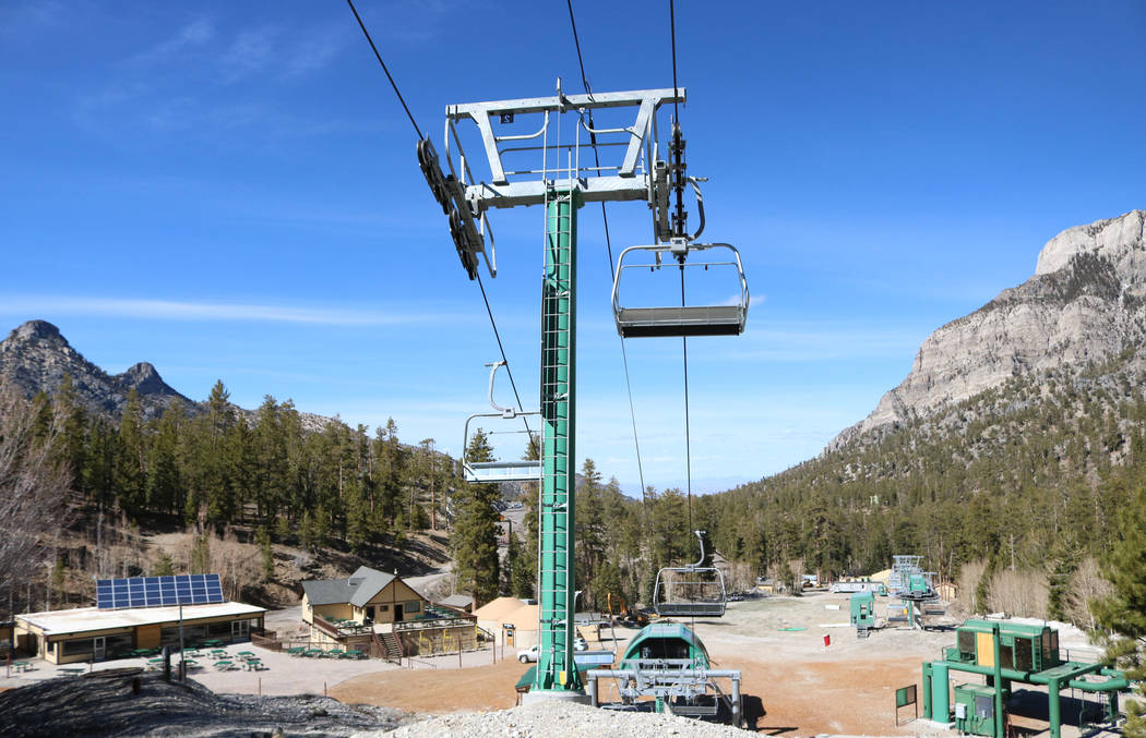 Lee Canyon ski resort is ready to modernize and expand into a year-round playground. Gabriella Benavidez Las Vegas Review-Journal @latina_ish