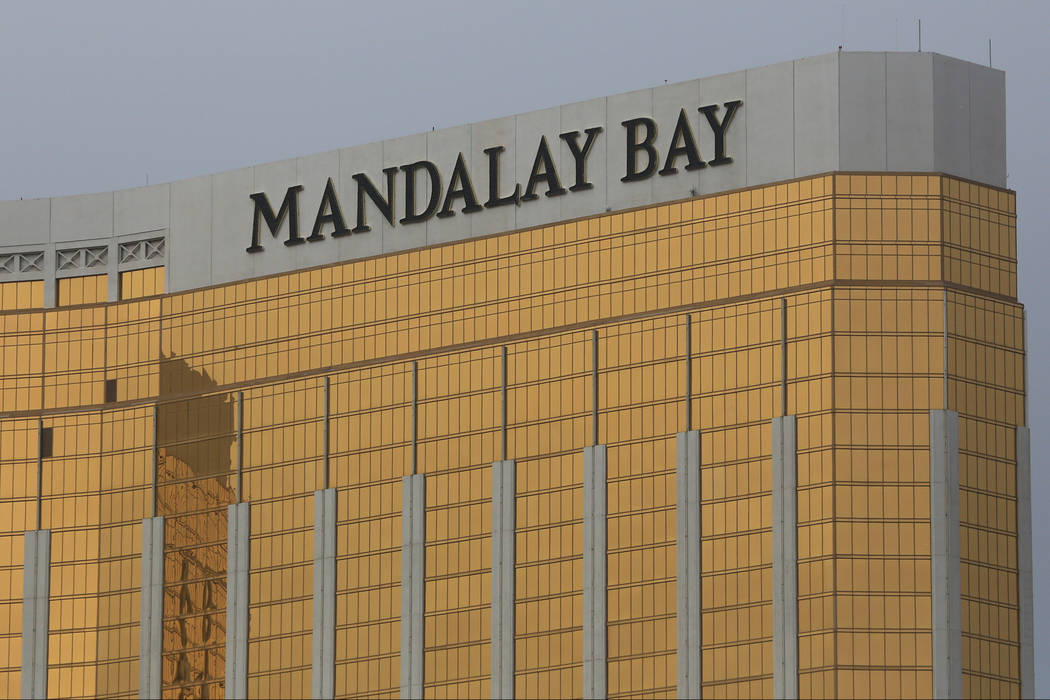 Mandalay Bay hotel-casino in Las Vegas on Saturday, Feb. 25, 2017. Brett Le Blanc/Las Vegas Review-Journal Follow @bleblancphoto