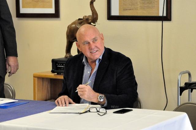 Business owner Dennis Hof (Horace Langford Jr./Pahrump Valley Times)
