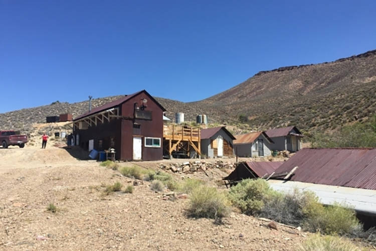 The main camp at Groom Mine is shown in August, 2015. Photo courtesy Sheehan family