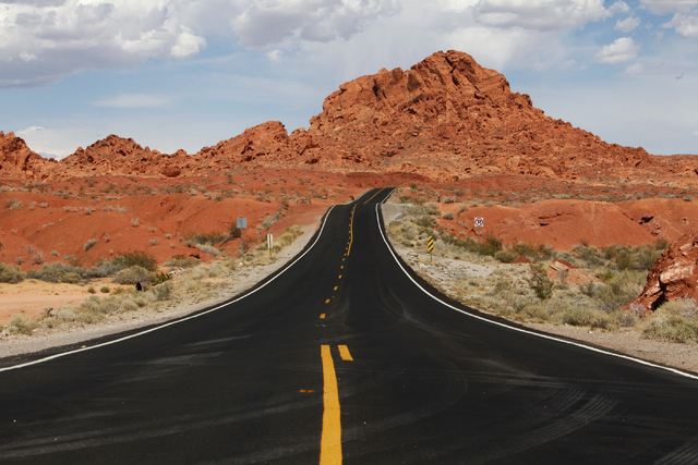 Valley of Fire State Park in Overton, Nevada, Saturday, June 13, 2015. (James Tensuan/Las Vegas-Review Journal)
