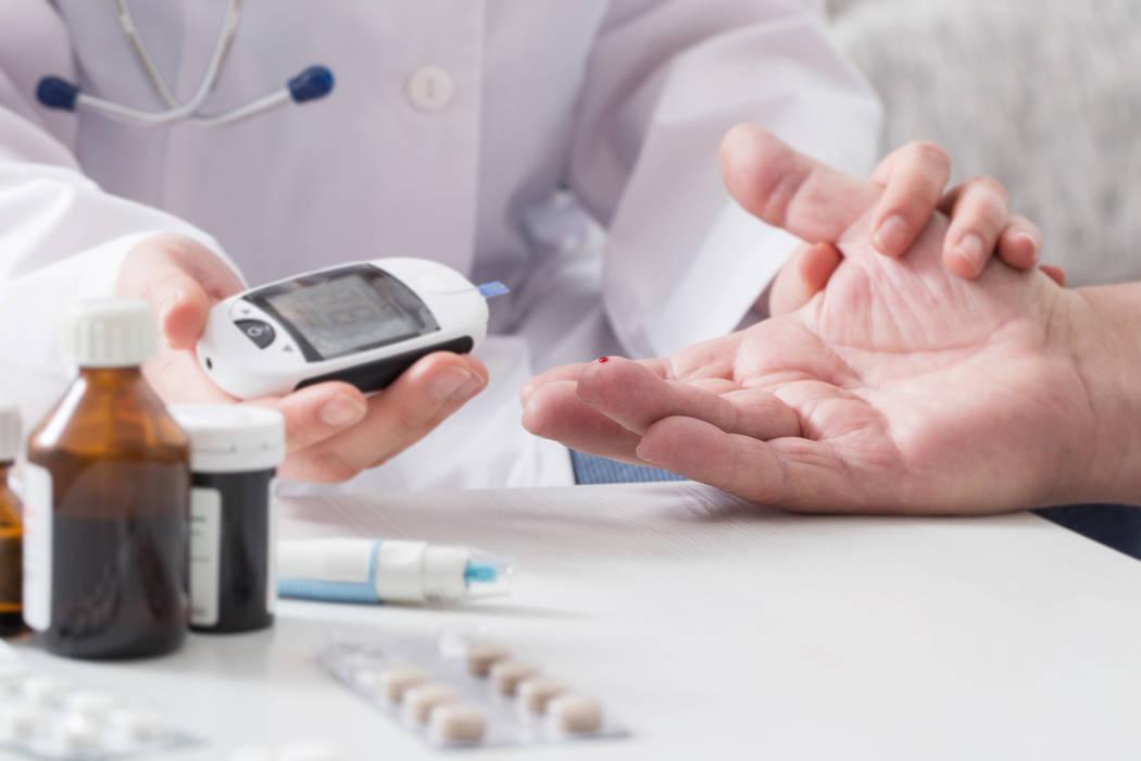 Blood sugar test. (Thinkstock)