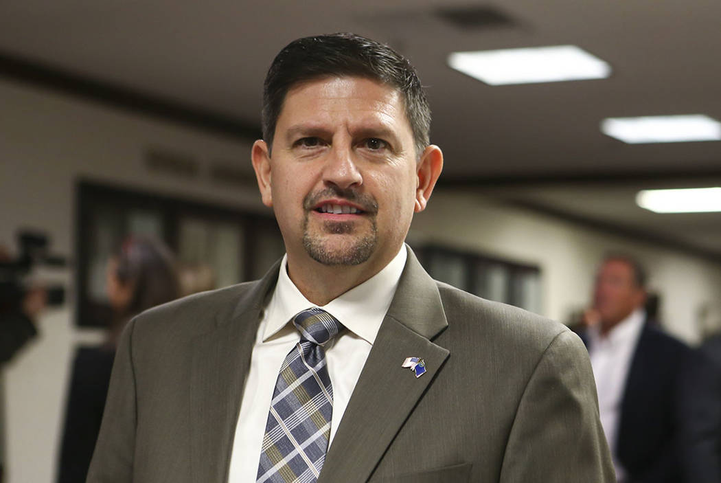 State Sen. Mark Manendo at the Legislative Building in Carson City on Tuesday, Jan. 17, 2017. (Chase Stevens/Las Vegas Review-Journal) @csstevensphoto