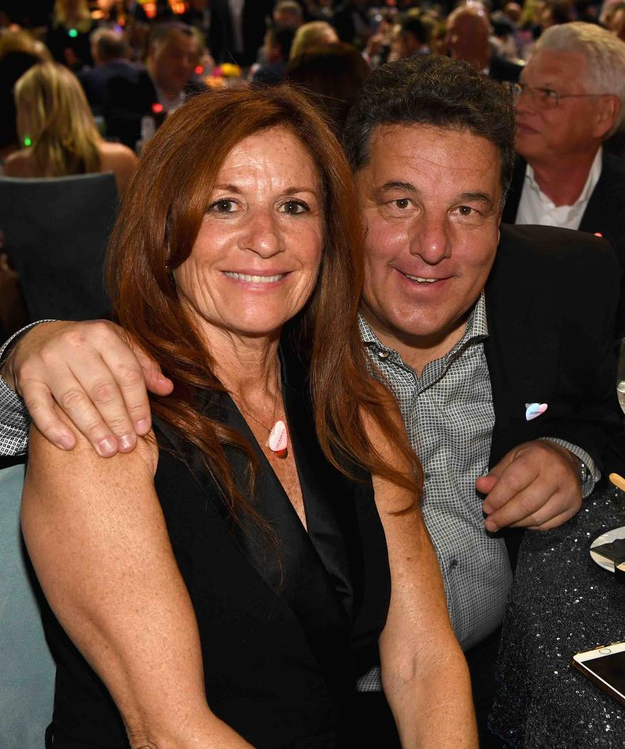 "Laura Schirripa and Steve Schirripa attend the Keep Memory Alive ""Power of Love Gala"" at MGM Grand Garden Arena on Thursday, April 27, 2017, in Las Vegas. (Denise Truscello/Getty Images for Keep M ..."