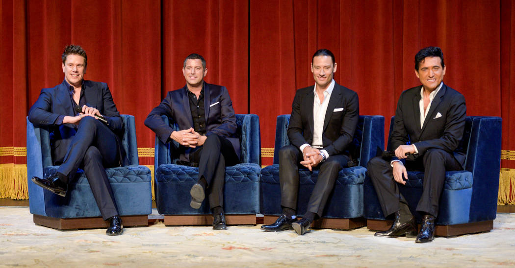 """Il Divo (David Miller, Sebastien Izambard, Urs Buhler and Carlos Marin) announces their headline limited engagement, """"Il Divo -- This Is Your Night: Live in Las Vegas,"""" at The Venetian on Tuesday, ..."""