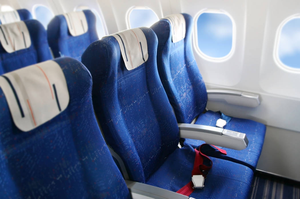 Airplane cabin. (Thinkstock)