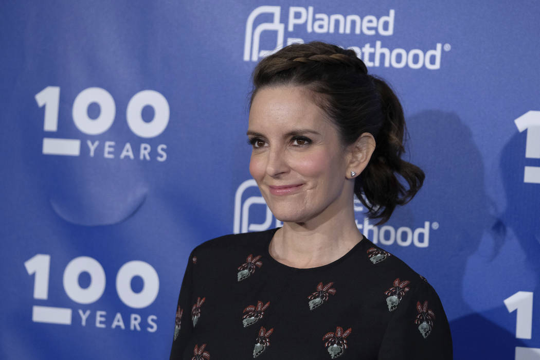 Tina Fey attends the Planned Parenthood 100th Anniversary Gala on Tuesday, May 2, 2017 in New York. (Charles Sykes/Invision/AP)