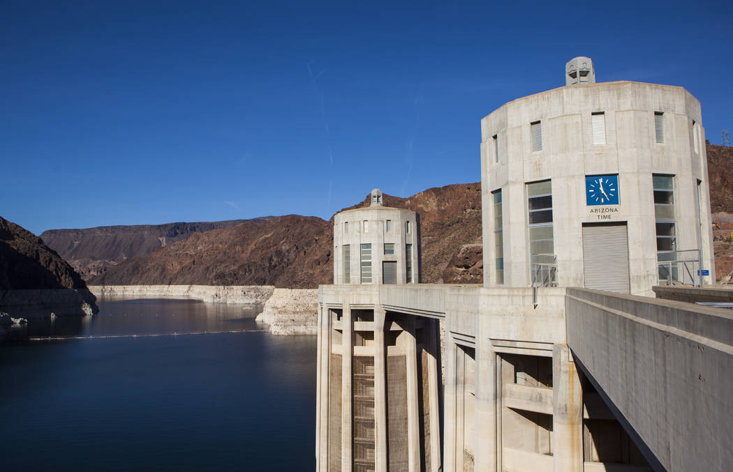 Hoover Dam on Wednesday, May 3, 2017. Miranda Alam Las Vegas Review-Journal @miranda_alam