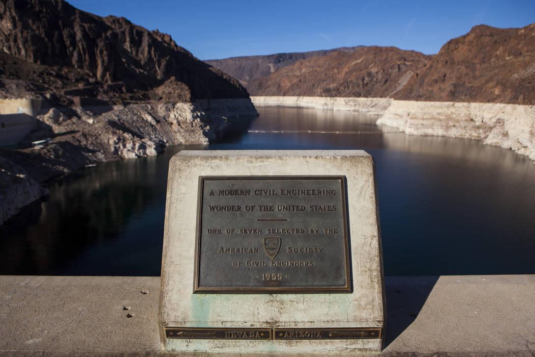 Hoover Dam on Wednesday, May 3, 2017. Miranda Alam Las Vegas Review-Journal @miranda_alam