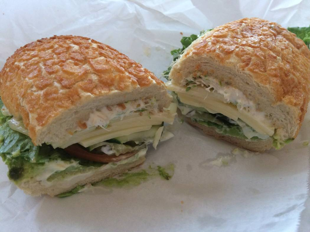 Sandwich Shop's Super Nova chicken sandwich. (Jan Hogan/View)