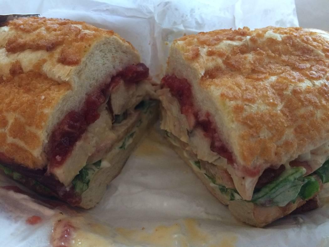 Sandwich Shop's pastrami. (Jan Hogan/View)